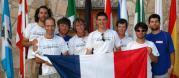 L'équipe de France lors de la cérémonie d'ouverture